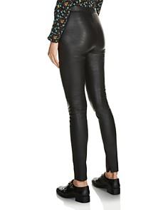 Maje - Smarto Leather Leggings