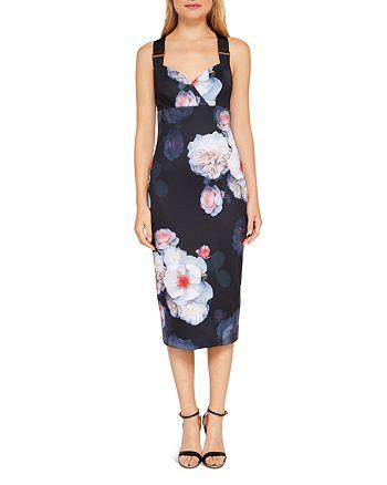 0edd734f4aa063 Ted Baker - Teeki Chelsea Print Body-Con Dress