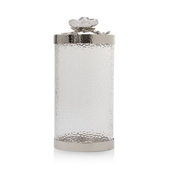 Michael Aram - Large White Orchid Canister