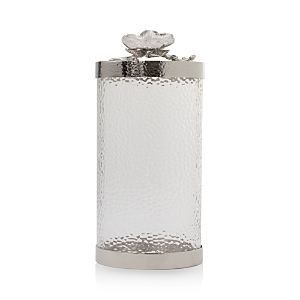 Michael Aram Large White Orchid Canister