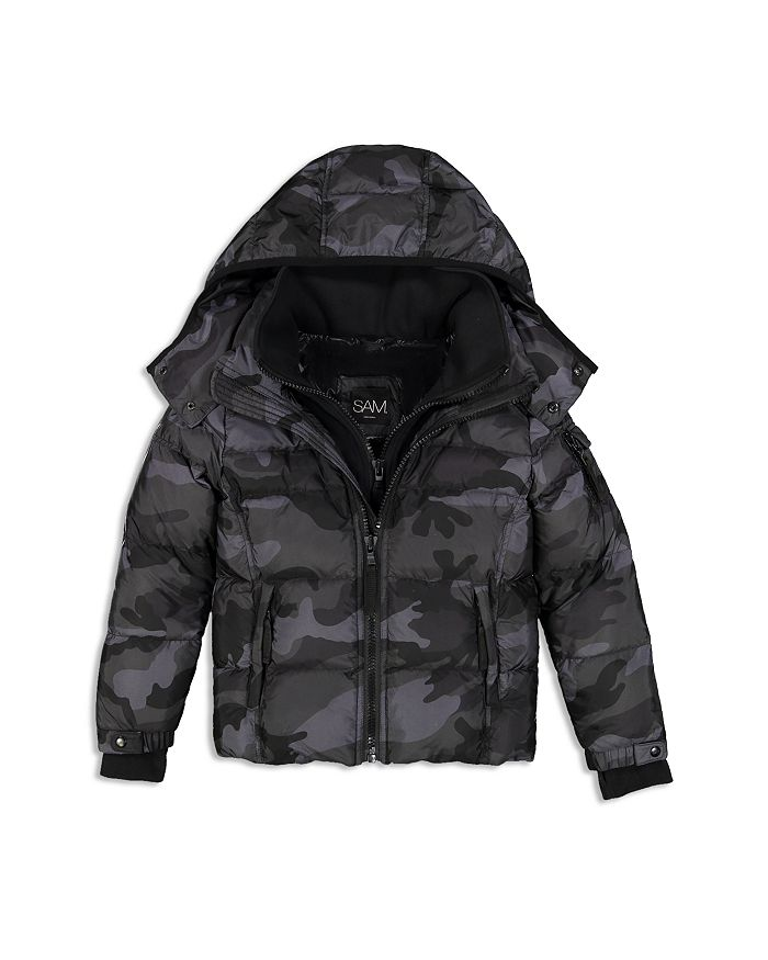 SAM. - Boys' Camo-Print Racer Down Jacket - Big Kid