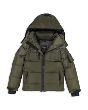 Sam. Boys' Matte Commander Down Jacket - Big Kid