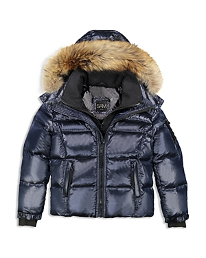 Sam Boys FurTrimmed Puffer Jacket  Big Kid