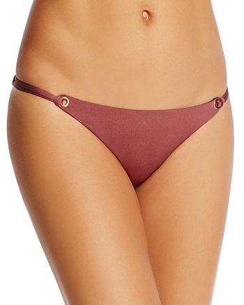 Heidi Klum Swim - Majestic Shimmer String Bikini Bottom