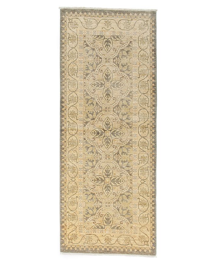 """Solo Rugs - Eclectic Runner Rug, 3'3"""" x 8'"""