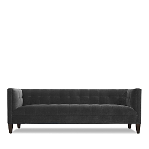 Taking inspiration from the President\\\'s classic, elegant style, the Kennedy sofa from Mitchell Gold + Bob Williams dresses up your decor with shelterstyle arms and a tufted back and seat.