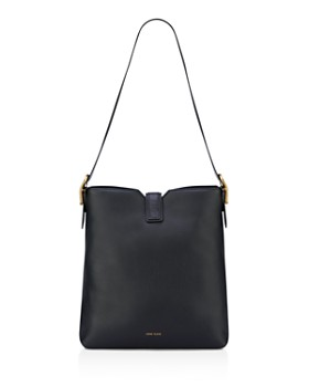 Anne Klein - Toggle Leather Hobo