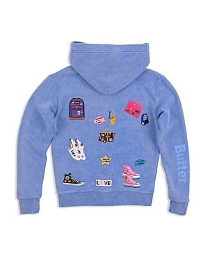 Butter Girls' Patches Hoodie - Big Kid