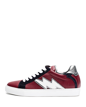 Zadig & Voltaire Women's Zv1747 Flash Leather Sneakers