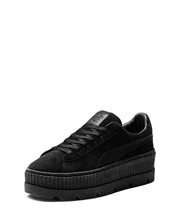 online retailer 357c3 46ed2 FENTY Puma x Rihanna Women's Suede Cleated Platform Sneakers ...