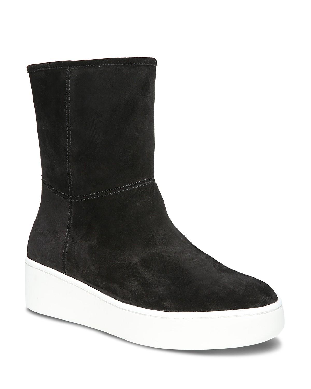 Via Spiga Women's Elona Suede & Fur Platform Sneaker Boots ljK4hlva