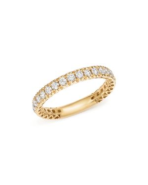 Bloomingdale's Heart Openwork Diamond Ring in 14K Yellow Gold, .50 ct. t.w. - 100% Exclusive