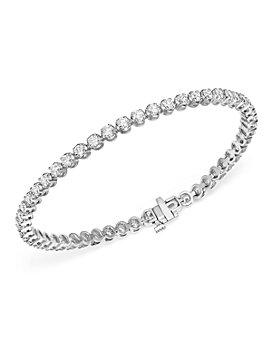 Bloomingdale's - Diamond Tennis Bracelet in 14K White Gold, 4.0 ct. t.w. - 100% Exclusive