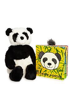 Jellycat Bashful Panda & If I Were a Panda Book - Ages 0+ - Bloomingdale's_0