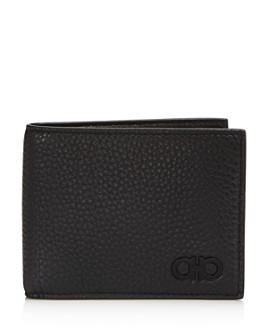 Salvatore Ferragamo - Firenze Pebbled Leather Bifold Wallet