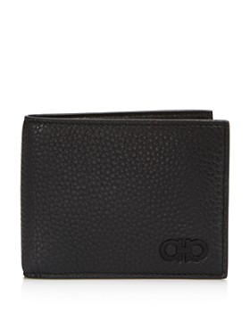 776f3344a4e295 Salvatore Ferragamo - Firenze Pebbled Leather Bifold Wallet ...