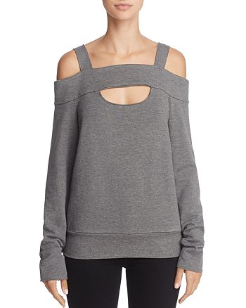 Bailey 44 - Ground Swell Cold-Shoulder Sweatshirt