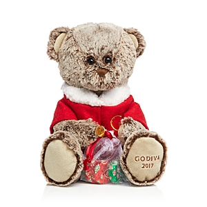 Godiva 2017 Holiday Plush Bear