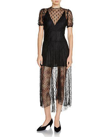 Maje - Ramsey Open-Back Lace Dress