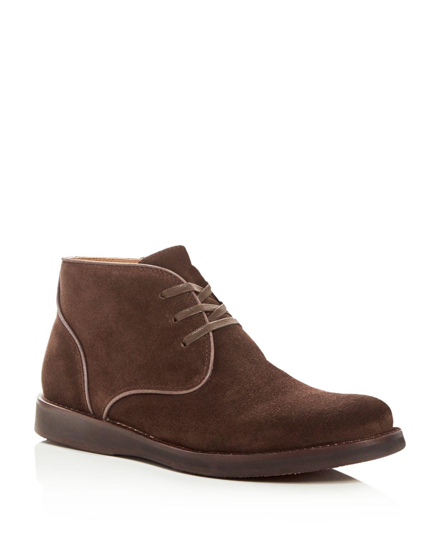 John Varvatos John Varvatos Men's Star Usa Brooklyn Suede Chukka Boots