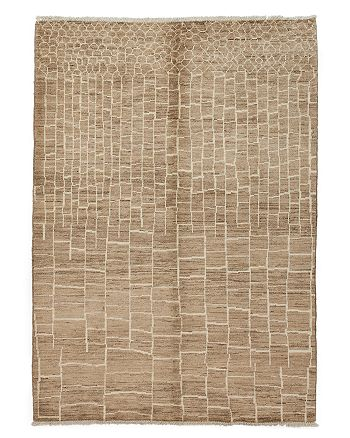 "Solo Rugs - Moroccan Area Rug, 8'10"" x 6'4"""