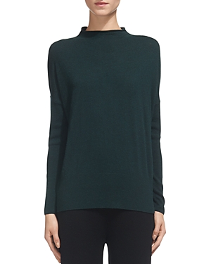 Whistles Peplum-Hem Sweater
