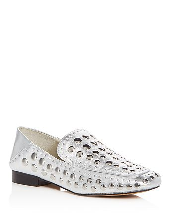 1.STATE - Women's Flintia Embellished Leather Apron Toe Loafers