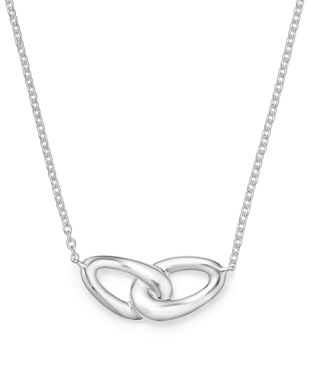 Ippolita Cherish Interlocking Link Necklace with Diamonds wdASAC