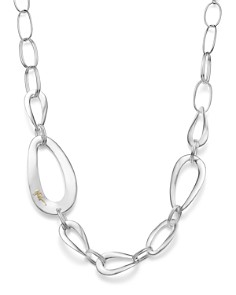 IPPOLITA - Sterling Silver Cherish Large Link Collar Necklace, 22""