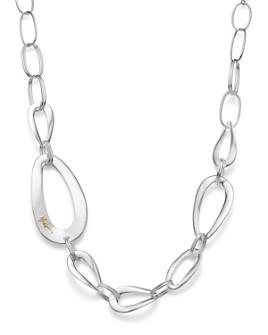"IPPOLITA - Sterling Silver Cherish Large Link Collar Necklace, 22"""