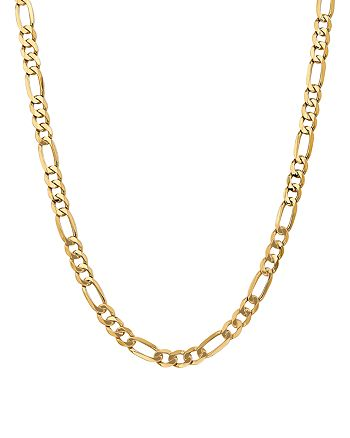 """Bloomingdale's - 14K Yellow Gold 7mm Flat Figaro Chain Necklace, 24"""" - 100% Exclusive"""