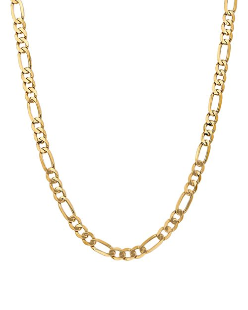 """Bloomingdale's - 14K Yellow Gold 7mm Flat Figaro Chain Necklace, 20"""" - 100% Exclusive"""
