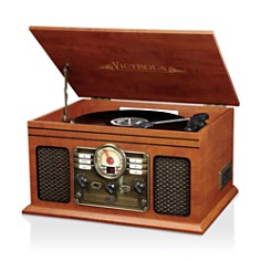 Innovative Technology Victrola 6-in-1 Nostalgic Bluetooth Record Player with 3-Speed Turntable - Bloomingdale's Registry_0