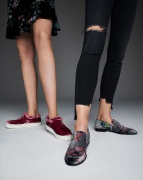 Opening Ceremony slip on velvet sneakers new online from china low shipping fee g3S9UUbIo