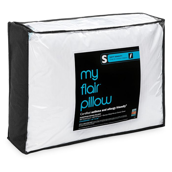 Bloomingdale's - My Flair Asthma & Allergy Friendly Soft Pillow, Standard - 100% Exclusive