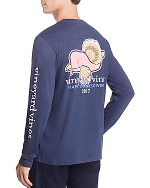Vineyard Vines Turkey Long Sleeve Pocket Tee