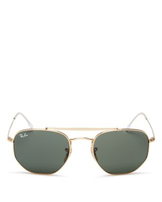 Ray Ban Top Bar Hexagonal Sunglasses, 54mm