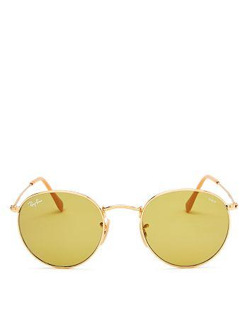 f3e788494 Ray-Ban Unisex Polarized Evolve Round Sunglasses, 50mm | Bloomingdale's