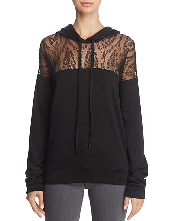 Bailey 44 - Nightmare at The Monastery Lace-Inset Hoodie
