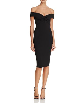 Nookie - Dolly Off-the-Shoulder Midi Dress