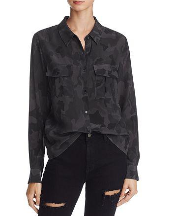 Rails - Rhett Camouflage Silk Shirt