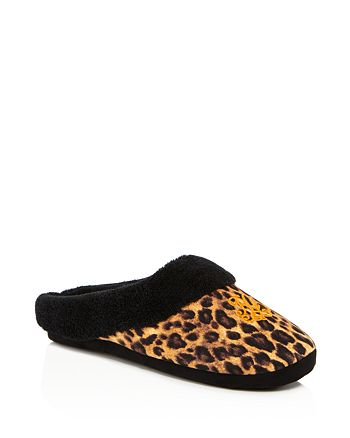 Ralph Lauren - Leopard Print Holiday Slippers