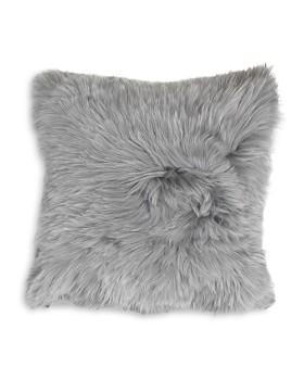 "Mitchell Gold Bob Williams - Alpaca Silver Pillow, 20"" x 20"""