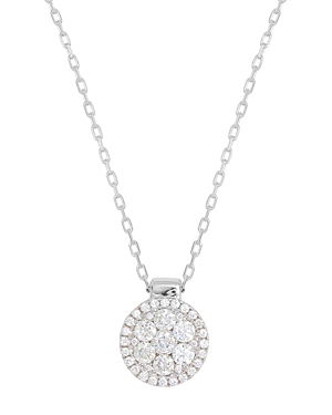 Click here for Frederic Sage 18K White Gold Firenze Diamond Clust... prices