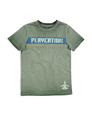 Butter Boys MineralWash Playcation Graphic Tee  Little Kid
