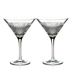 Waterford - Diamond Line Martini Glasses, Set of 2