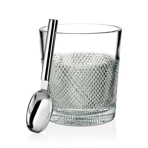 Waterford - Diamond Line Ice Bucket with Scoop