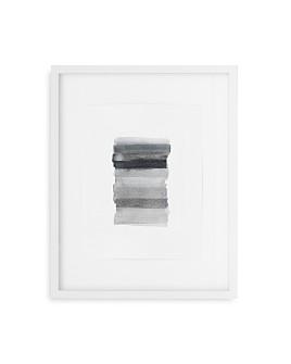 Mitchell Gold Bob Williams - Gray Grid Dot Story Wall Art