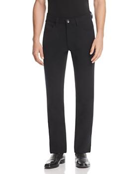 Armani Collezioni - Solid Classic Fit Pants