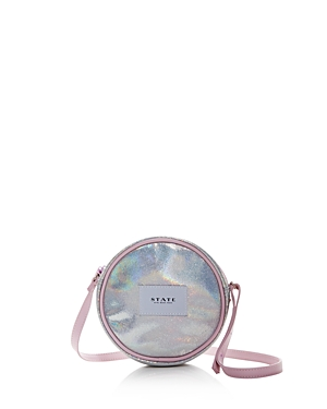 State Girls' Iridescent Crossbody